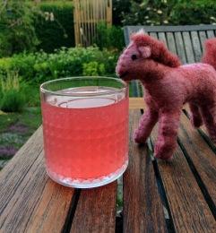 rabarbersaft rosa